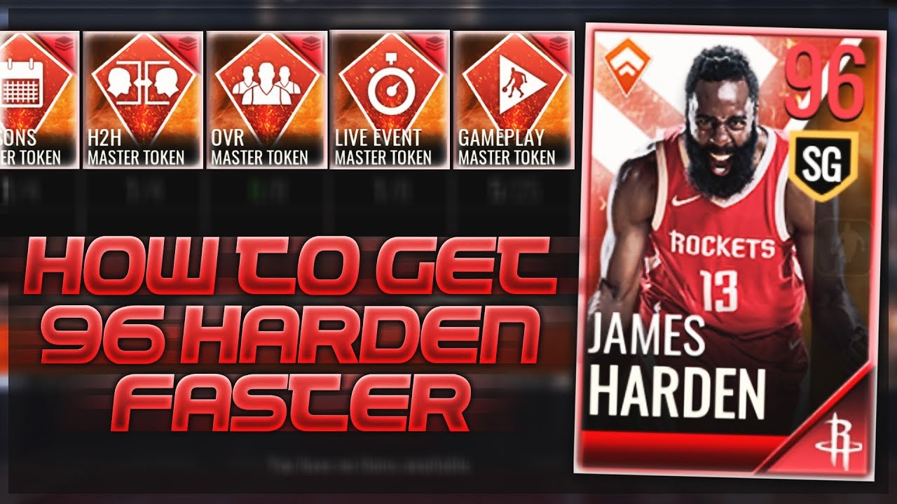 14fc8e8f858 HOW TO GET THE 96 OVR MASTER JAMES HARDEN FASTER!!! NBA Live Mobile Tips  and Tricks!!!