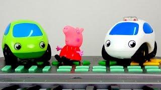 Свинка Пеппа и Машинки. Поздравление с днём рождения! Мультики про машинки.