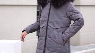 [NEWPICK]양면 빅 퍼 후드 패딩 자켓