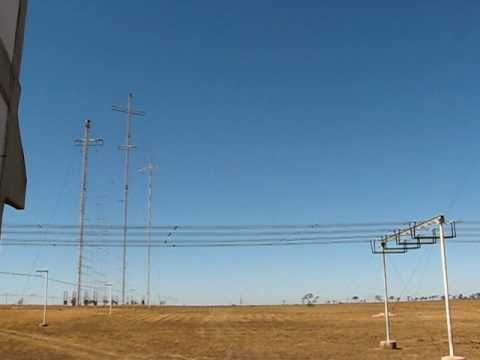 Antenas da Radio Nacional da Amazonia, Parque do Rodeador, Brasilia