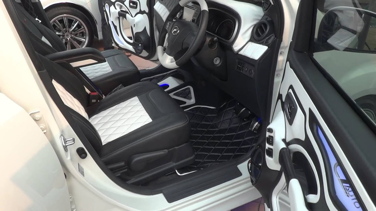 White Custom Car Interior Black And White Car Interior Youtube