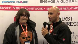Ted Dhanik of EngageBDR Interviews Andy Milonakis at adtech 2013 in San Francisco