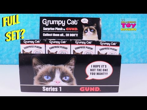 Grumpy Cat Surprise Plush Series 1 Toy    PSToys