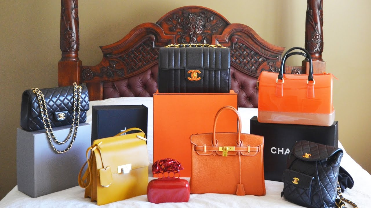 16739e51540a How to buy designer bags & how to buy preloved - my designer bag collection  inc Hermes & Chanel! - YouTube