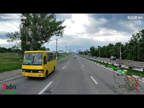Yandex Panorama Video: Eipatorija - Alušta