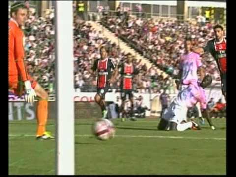 Gol de Pastore al Evian