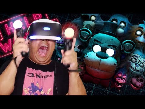 I CAN NOT HANDLE THIS SHHT!! [FNAF VR]