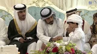 خليفة بن طحنون يشهد حفل زفاف نجل الشهيد محمد إسماعيل البلوشي