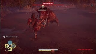 Assassin's Creed: Odyssey - Calydonian  Boar Fight (PS4) [German]
