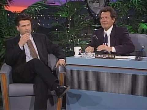 Alec Baldwin on the Larry Sanders Show