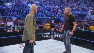 Edge addresses the WWE Universe