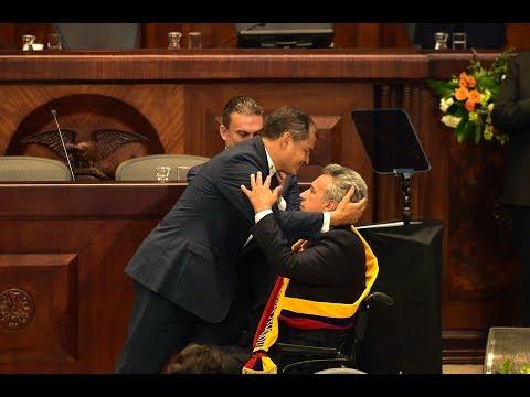 Posesión de Lenín Moreno como Presidente del Ecuador