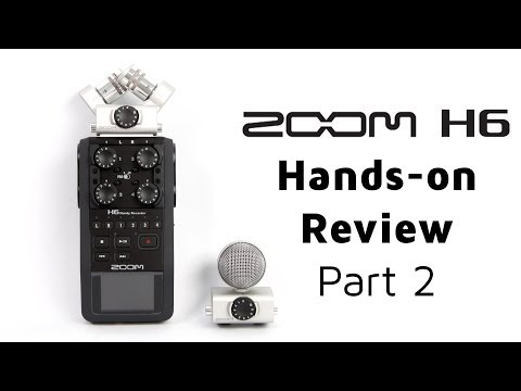 Zoom H6 Field Recorder - YouTube
