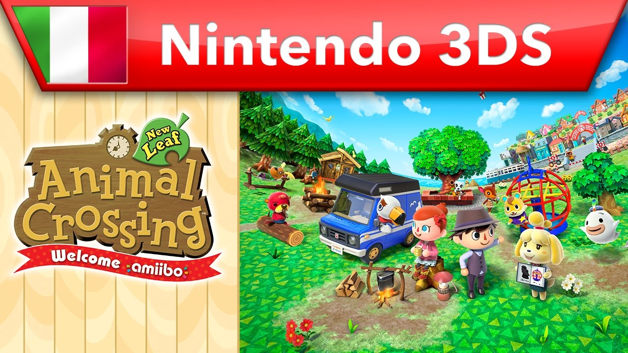 Animal Crossing New Leaf Welcome Amiibo Trailer Nintendo 3ds