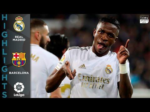 Real Madrid 2 - 0 FC Barcelona - HIGHLIGHTS & GOALS - 03/01/2020