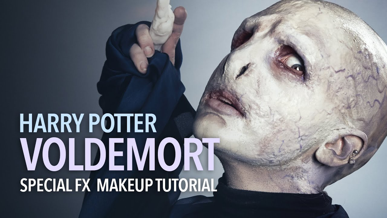 Halloween makeup transformation