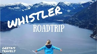 ROAD TRIP TO WHISTLER: Sea to Sky Highway, Waterfalls and Hikes - CANADA PART 2
