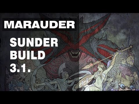 Path Of Exile [3.1] Shams Marauder Beserker 2h Mace Sunder Build - Starter Guide