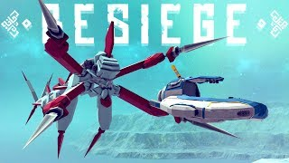 Subnautica Seamoth VS Reaper Leviathan - Besiege Storytelling & More! - Besiege Best Creations