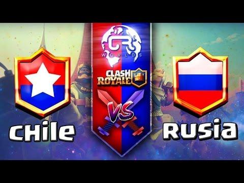 CR Worlds    CHILE vs RUSIA   Mundial Clash Royale Grupo C