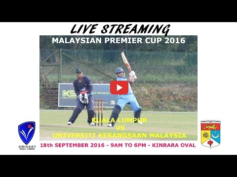 MALAYSIA PREMIER CUP 2016 FINAL | KL vs UKM PART1