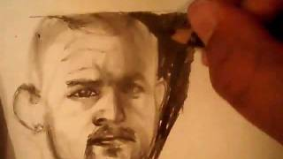 chuck liddell drawing