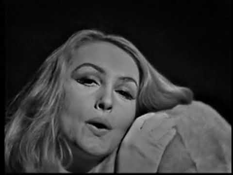 Julie Newmar--Sexy Weather Report, 1963 TV