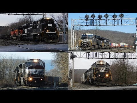 Railfanning the NS Pittsburgh Line at Fostoria, PA and Horseshoe Curve!