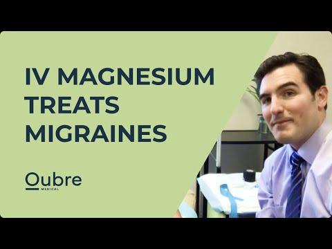 IV Magnesium Treats Acute Migraines