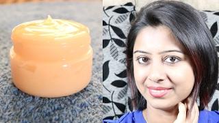 Homemade Night Cream for all type of Skin || Anti Aging Wrinkle Free DIY Night Cream