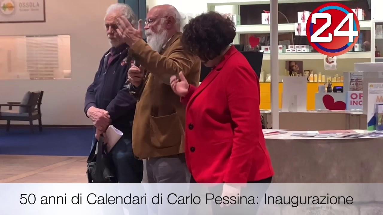 50 anni di Calendari di Carlo Pessina: Inaugurazione