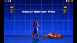 MUGEN Richter Belmont English Showcase