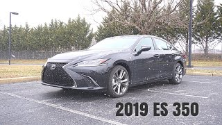 2019 Lexus ES 350 F Sport - A True Sports Sedan?