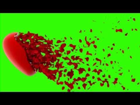 Top Heart On Green Screen   Heart Activity   Buy Backdrop   Heart Shape  Green Video Footage