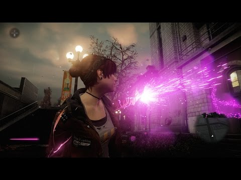 inFamous First Light Free Roam Gameplay PS4-Neon
