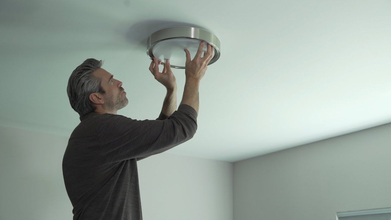 low priced 18c02 72129 Koda LED Ceiling Light with Mood Lighting | Installation