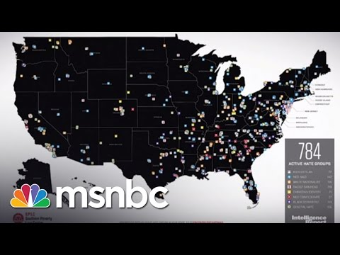 784: The Number Of Hate Groups In The US   msnbc