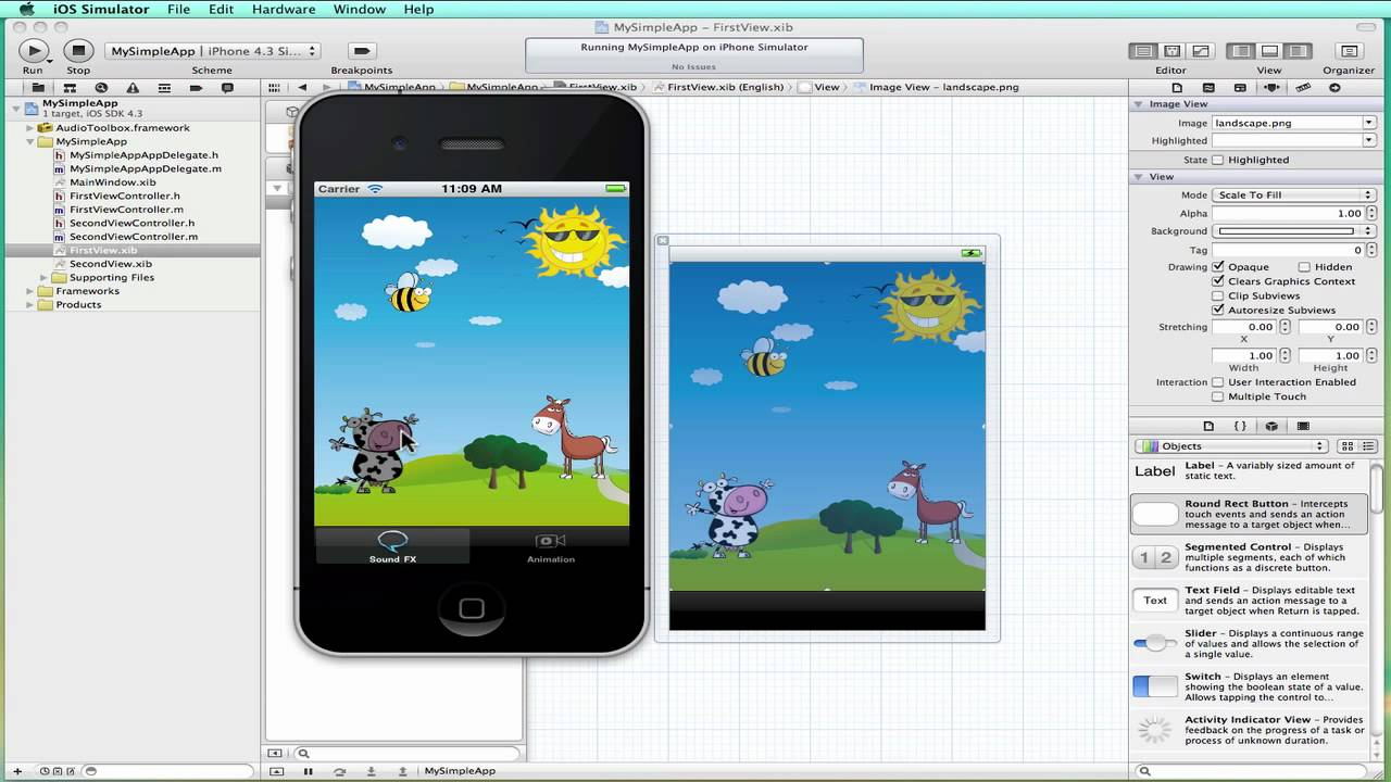 Creating A Simple App In Xcode 4