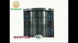 Опалубка круглых колонн GeoPlast(Колонны состоят из ABS-пластиковых сегментов (полукруглых щитов) высотой 600 мм и рукояток-замков. Вес одного..., 2013-06-13T14:31:03.000Z)