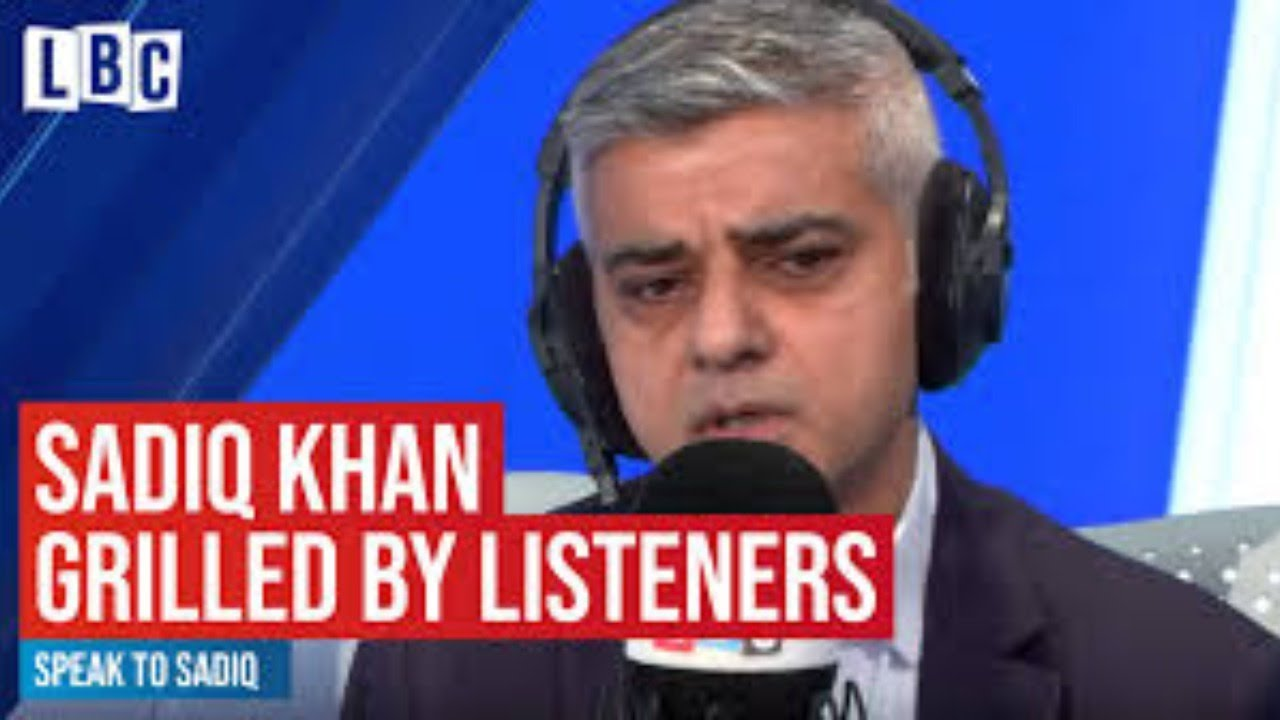 Speak To Sadiq live on LBC   James O'Brien   LBC