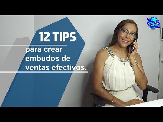 PROSPECTOS EN INTERNET - 12 TIPS PARA CREAR EMBUDOS EFECTIVOS PARA TU NEGOCIO - INVITACIÓN
