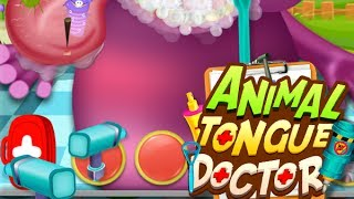 Animal Tongue Doctor - Kids Game (Gameplay) Video by Arth I-Soft