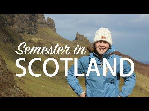 Studying Abroad in Scotland