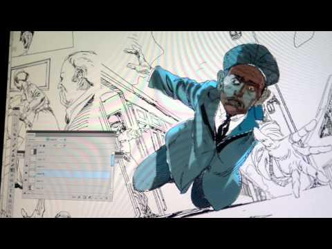 Gandhi, the graphic novel
