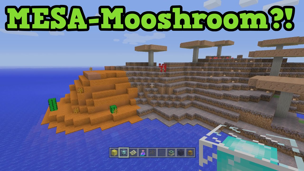 The SUPER SEED!!! All biomes All structures!!! - Minecraft: Editions