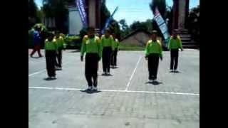 Juara 1 senam SKJ 2012  tingkat Kecamatan, SD Negeri Tolokan 01