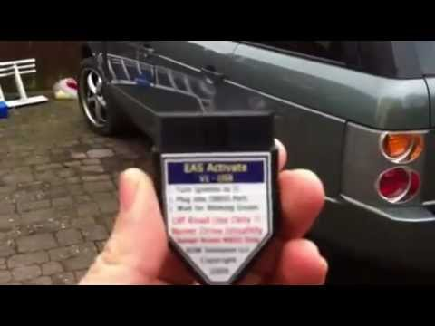 Range Rover L322 hse 2003 air suspension fault RESET TOOL