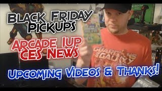 Rival Boss Video Game Black Friday Pickups, Arcade 1up News, and Upcoming Arcade 1up Mod Videos.