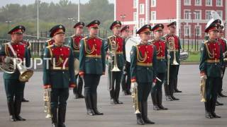 Russia: Putin attends opening of Tula military academy