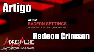 Veja a nova interface dos drivers da AMD no Radeon Software Crimson